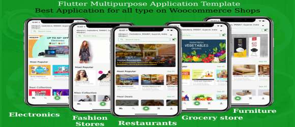 FoodZone Multivendor Mobile App in Flutter with Admin Panel Demos