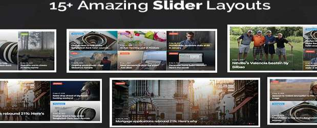 Jannah News - WordPress Theme Newspaper Magazine News AMP BuddyPress slider features