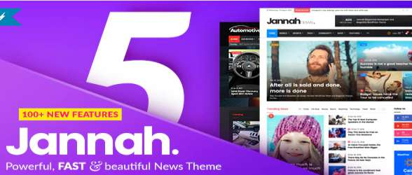 Jannah News - WordPress Theme Newspaper Magazine News AMP BuddyPress