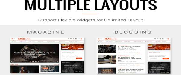 MagOne Blogger Template - Responsive News & Magazines Demos
