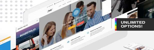 Total - Responsive Multi-Purpose WordPress Theme Demo Views