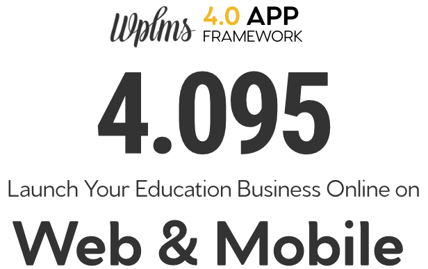 WPLMS Learning Management System for WordPress Version Detail