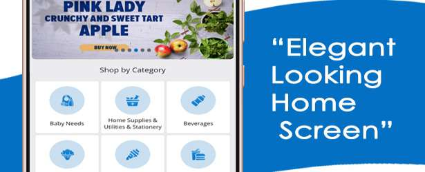 eCart - Grocery, Food Delivery, Fruits & Vegetable store, Full Android Ecommerce App Demo