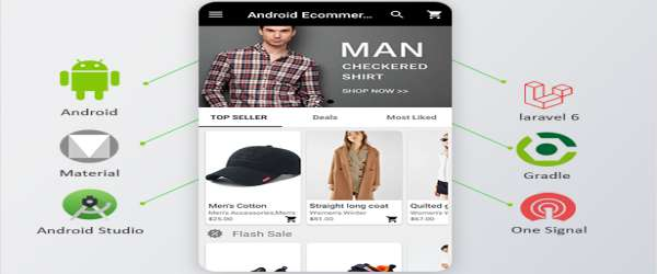 Android Ecommerce - Universal Android Ecommerce Store Full Mobile App with Laravel CMS features