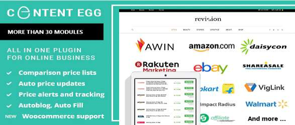 Content Egg - All in One Plugin for Affiliate Price Comparison Deal Sites