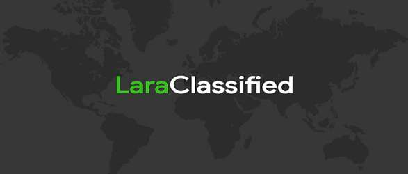 LaraClassified - Classified Ads Web Application PHP Script