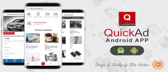 Quickad - Classified Native Android App