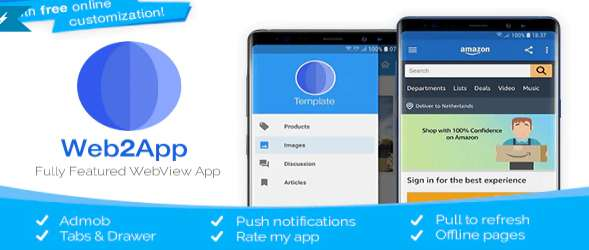 Web2App - Quickest Feature - Rich Android WebView