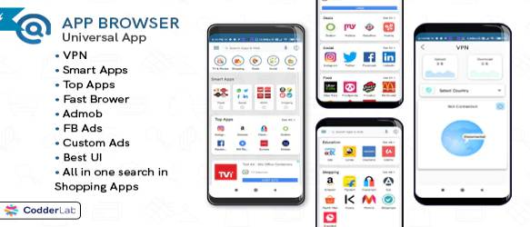 App Browser - All on one app with VPN