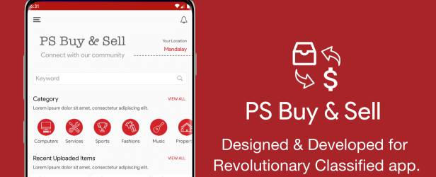 PS BuySell Clone Classified App demo