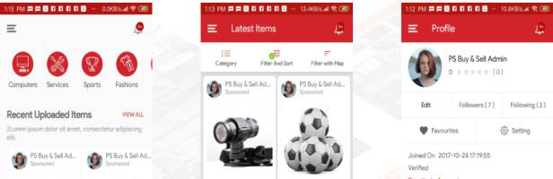 PS BuySell Clone Classified App features