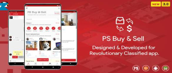 PS BuySell Clone Classified App