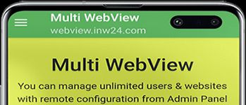 Multi WebView with Admin Panel in action